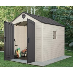 Lifetime Products 8X10Garden Shed With Floor.