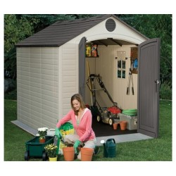 8X10 Lifetime Products Garden Shed With Floor.