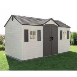 Lifetime USA 8x15 Garden Shed Single Entrance