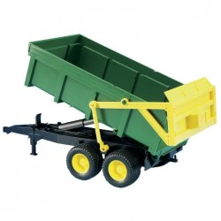 Bruder Tipping Trailer (Green-Yellow)