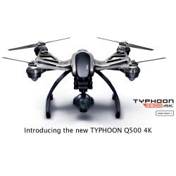 Yuneec TYPHOON Q500+ 4K COMPLETE READY-TO-FLY SYSTEM