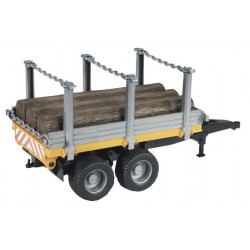 Bruder Timber Trailer With 3 Trunks
