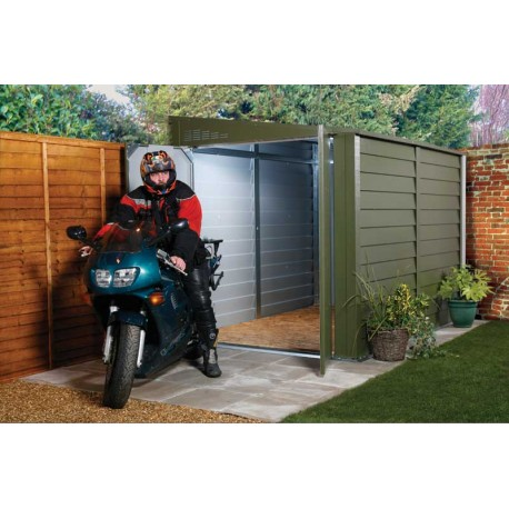 Trimetals Security Bike Pent Shed 6X9 T960 With 2 Doors and No Windows