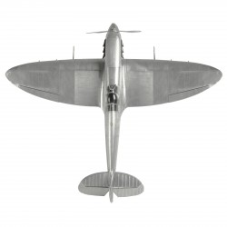 Large  Metal Museum Quality Display Spitfire  (61 x 75.6 x 17.1cm)  By Authentic Models