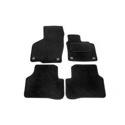 Sv68993 Tailored Mat Set - Vw Passat 2005-10 - Black Cosmos