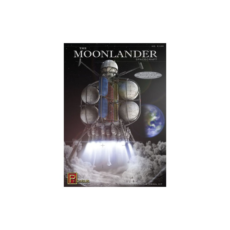 The Moonlander Spacecraft 1 350 Scale Scale Scale Kit PBPG9109 New  e10