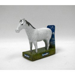 Bruder World White Horse Pony