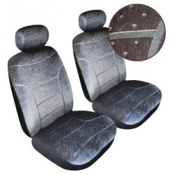 Sv10972 Domino Seat Covers Grey
