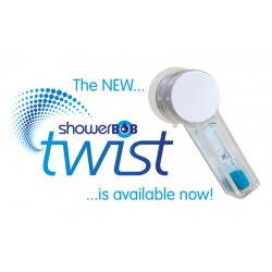 Showerbob Twist Time 4 Minutes Shower Timer.