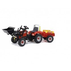 Case IH Puma CVX 170 Pedal Tractor with Front Loader and Trailer