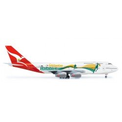 "B747-400 (Qantas ""Go Wallabies"") (Herpa Wings 554664)"