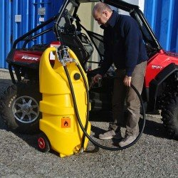 Emil 110 Litre Fuel Transport Caddy For Diesel With Electric Pump.