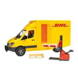 Dhl Delivery Van And Pallet Truck