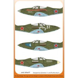 Bell P39 Airacobra Lend lease to Russia 1/48 Scale Decal
