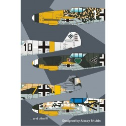 Messerschmitt BF109F-4 1/48 Scale decals