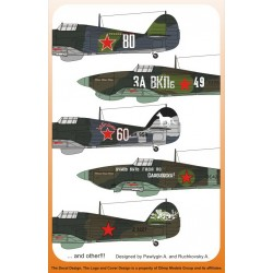 Hawker Hurricane IIb, in the Russian Sky 12 options 1/72 Scale Decal