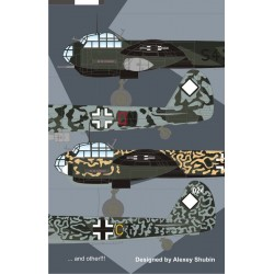 Junkers Ju-88 Anti Shipping Units 1/72 Scale Decals