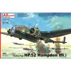 Handley Page HP.52 Hampden Mk.I 1/72 Scale Kit