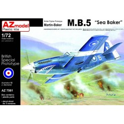 Martin Baker MB5 Sea Baker 1/72 Scale kit