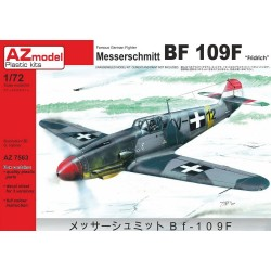 Messerschmitt Bf 109F-4 Hungarian AF 1/72 Scale Kit