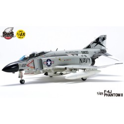 F4J Phantom II JET Navy Zoukei Mura Kit  1/48