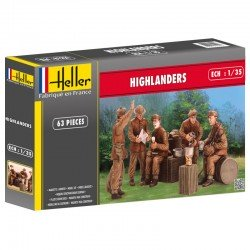 Highlanders 1/35 Scale Kit Heller 81221