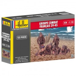 French Combat Group 39-45 1/35 Scale Kit Heller 81224