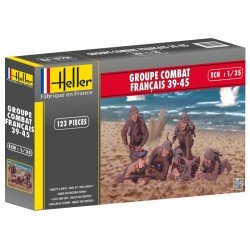 French Combat Group 39-45 1/35 Scale Kit