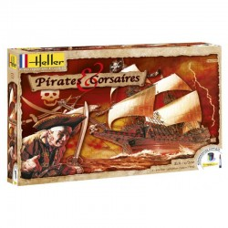 Pirates & Corsaires 1/200 Scale Kit Heller 52703
