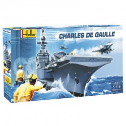 Charles De Gaulle 1/400 Scale Kit