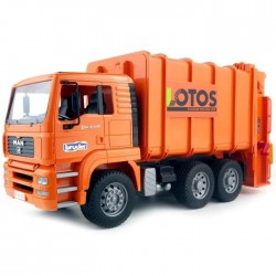 Bruder Man Garbage Truck (Orange)