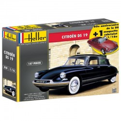 CITROEN DS 19 1/16 Scale Kit