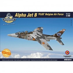 Alpha Jet B 'plus' (Belgian Air Force) 1/48 Scale Kit