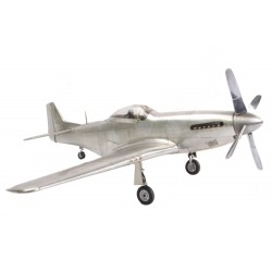 Mustang P51 Fighter including aluminium stand 1/15 Scale