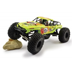 FTX MAULER 4X4 ROCK CRAWLER BRUSHED 1:10 READY-TO-RUN - YELLOW