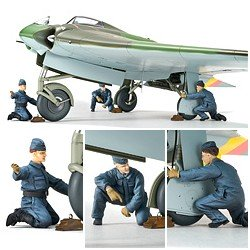 Horten Ho229 Ground Crew Set 1/32 Scale Kit