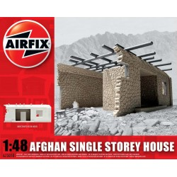 Afghan Single Story House 1:48 Scale Model