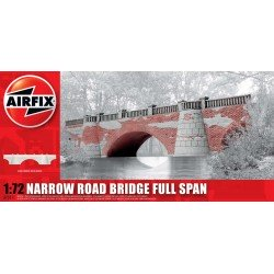 Narrow Road Bridge Full Span 1:72 Scale Model