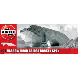 Narrow Road Bridge Broken Span 1:72 Scale Kit