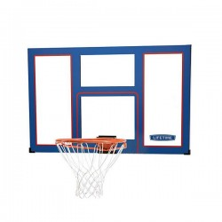 "48"" Lifetime Products Shatter Proof Slam It  Hoop and back Board."