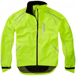 Prime men's waterproof jacket, (hi-viz yellow) - MEDIUM