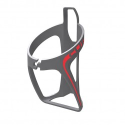 BOTTLE CAGE HPP GREY/RED