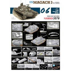 1/35 IDF Magach 3 w/ERA