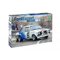 FORD ESCORT RS1800 Mk.II 1/24 Scale Kit