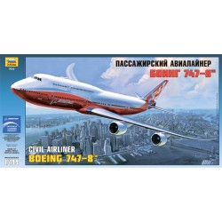 BOEING 747-8 1/144 Scale Kit