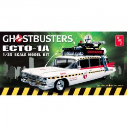 GHOSTBUSTERS ECTO-1 OR ECTO-1A  1/25 Scale Kit