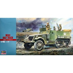 US M3A1 HALF TRACK 1/72 Scale Kit