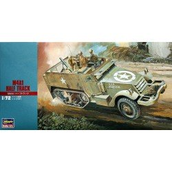 US M4A1 HALF TRACK 1/72 Scale Kit