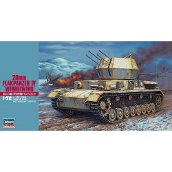 FLAKPANZER IV WIRBELWIND 1/72 Scale Kit