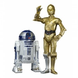 C3-PO & R2-D2 Film ARTFX+ TWIN PACK 1/10 Scale Model